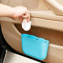 4 color Portable plastic Car Storage Box Car Seat Gap Pocket Catcher Organizer Leak-Proof Storage Box Auto Bag Container
