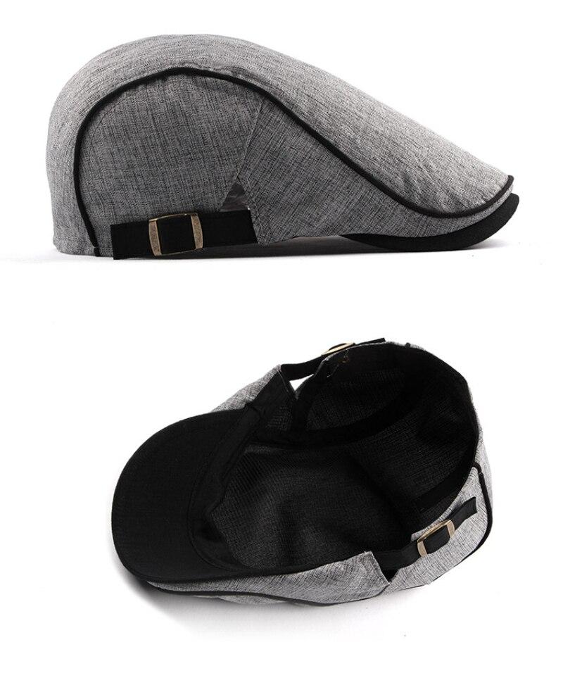 قبعة النمط الغربي للرجال 4