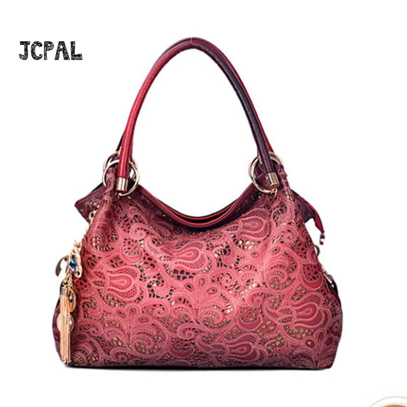 Fashion Pu Carved Carved Bags Women Handbags Patchwork Casual Women Shoulder Bags Female Messenger Bag Ladies 2017 Spring<br>
