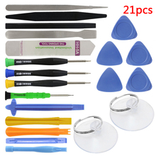 Buy 21pcs Opening Tool Screwdriver Set Mobile Phone Repair Tools Kit Spudger Pry Set iPhone iPad Cell Phone Hand Tools Set for $4.99 in AliExpress store
