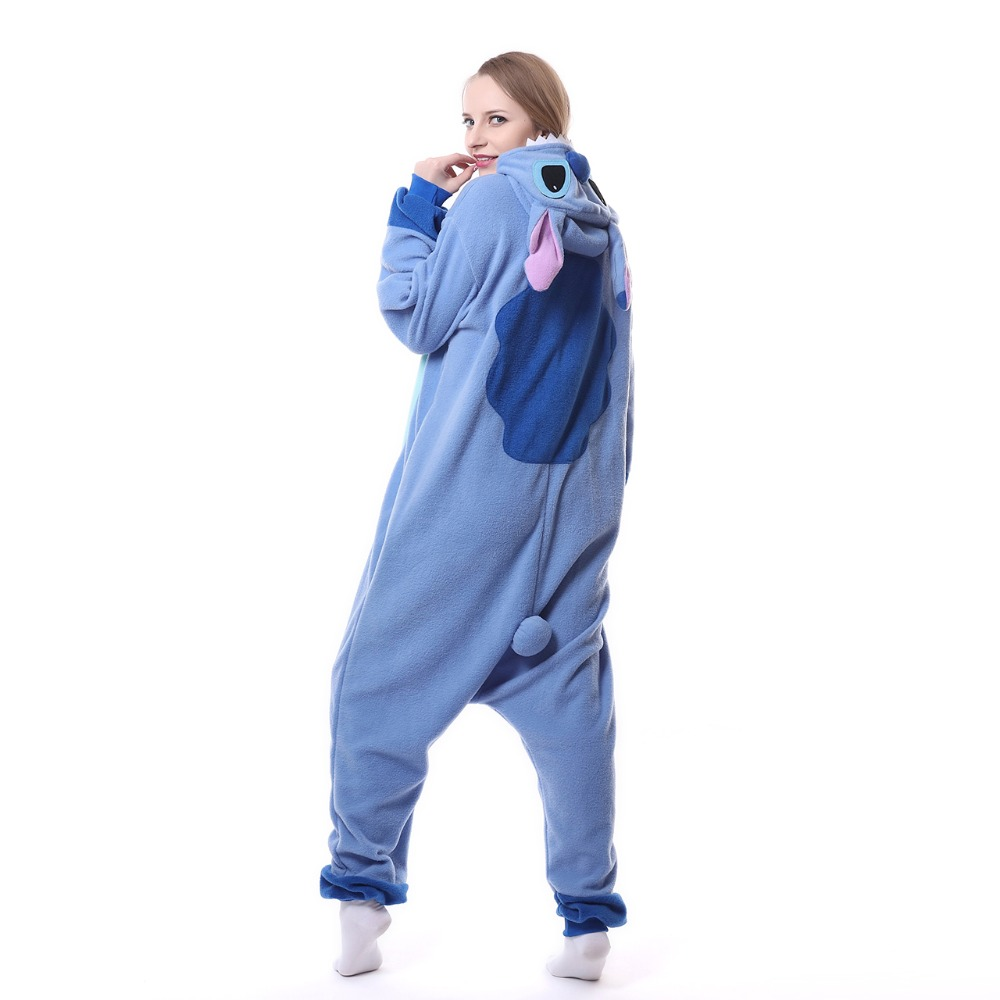 High-Quality-kigurumi-Adult-Onesie-Blue-Stitch-Polar-Fleece-Sleepwear-Cosplay-Pajamas-Cute-Unisex-Costume-overall