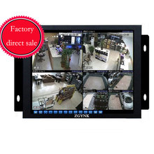 ZGYNK / 10.4 Open Frame Industrial monitor/ metal monitor with VGA /AV/BNC/HDMI monitor(China)