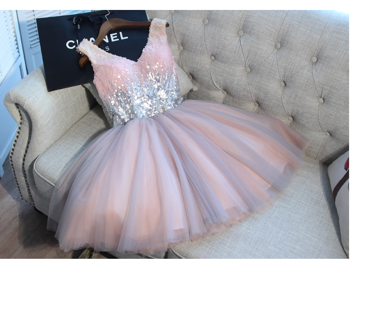 buy cheap Pink Short Evening Formal dress elegant Gown on sale
