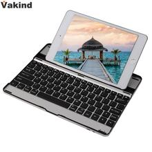 High Quality Universal Mobile Wireless Bluetooth Keyboard for Apple iPad 2/3/4 Keyboard Built-in Rechargeable Battery(China)