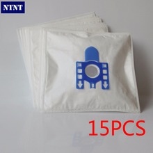 NTNT Free shipping 15 PCS New vacuum cleaner bags Miele GN Filter bags 5 layers nonwover filter bags