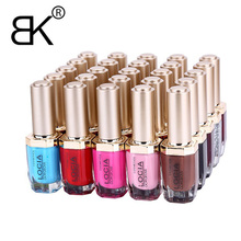 BK Brand Pure And Glitter Stamping Nail Polish Long Lasting Quickly Dry Nail Lacquer Sweet 52 Colors Stamp Enamel Paint 15ml