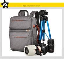 SY15-GRAYProfessional Waterproof Outdoor Bag Backpack DSLR SLR Camera Bag Case Nikon Canon Sony Pentax Fuji