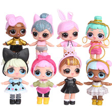 A Set 8 Pcs LoL SURPRISE DOLL Surprise Mystery Xmas Toy Surprise Doll Dropshipping interesting Anti Stress Toys lowest price #JD(China)