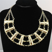 Retro exaggerated  women necklace Maxi necklace Europe and the United States foreign trade jewelry wholesale