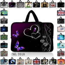 "Cute 11.6"" 12"" 12.5"" Laptop Neoprene Sleeve Case Notebook Bag Cover For Dell Inspiron /HP /IBM/Asus/Acer/Sumsung/Sony(China)"
