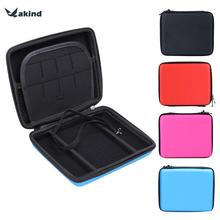 1 PC Hard EVA Storage Zip Case Cover Bag Holder + Carry Handle For Nintendo 2DS Console Candy Colored Best Price(China)