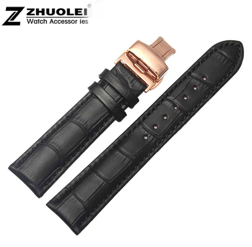 2015 New Arrival 18mm 20mm 22mm Watchbands Mens Genuine Leather High Quality Bracelet Watch Band<br><br>Aliexpress