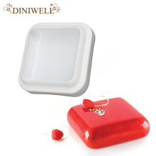 DINIWELL  Bakeware & Tools Baking Pastry Mould Square Design Silicone Cake Mold