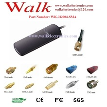 850/900/1800/1900/2170MHz GSM 3G Antenna, multi band antenna, 3g car antenna, SMA male connector, RG174 cable