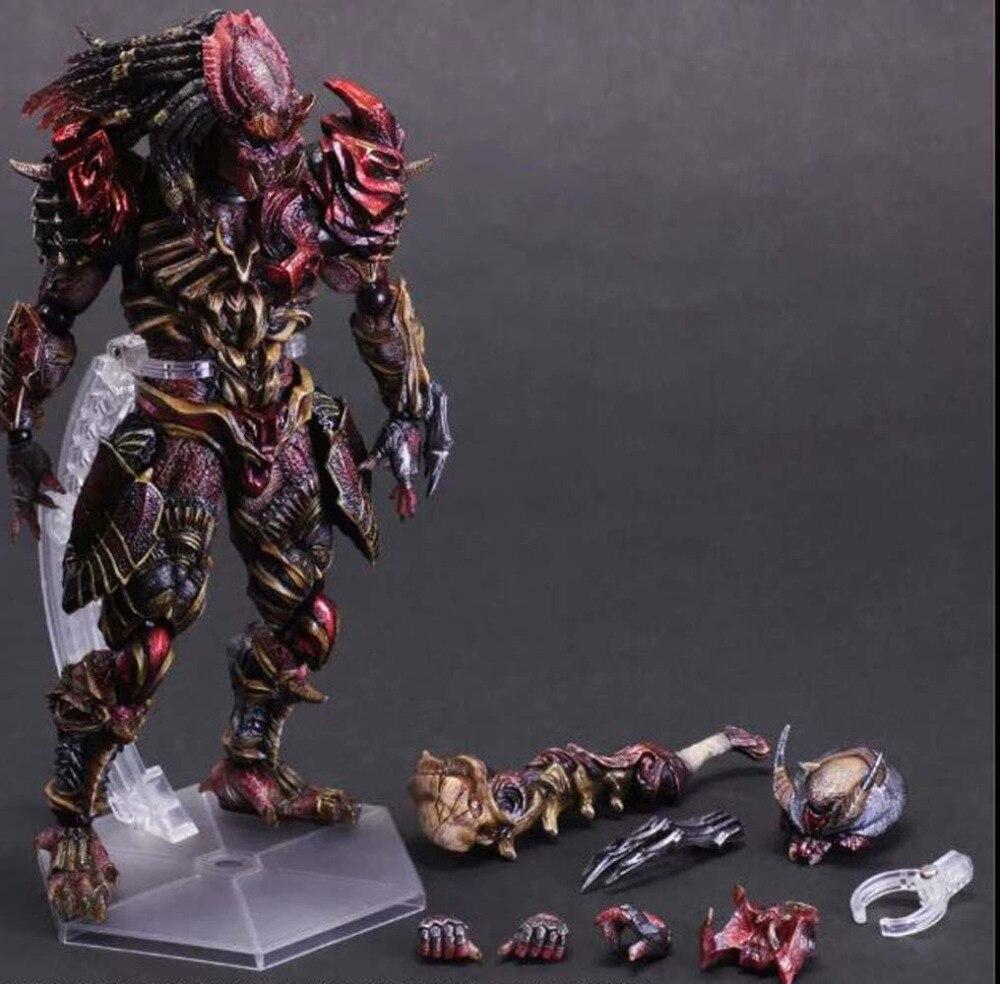Square Enix VARIANT Play Arts Kai Alien vs Predator Chopper Action Figure A57Y <br><br>Aliexpress
