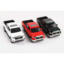 1/36 High Simulation TOYOTA Tundra Pickup Truck Models Collections Gifts Toys Black Red and White