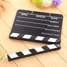 Cewaal Brand New Clapperboard Clapper Board Director Filming TV Movie Film Action Slate Clap Handmade Cut Prop