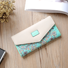 Long Zipper Leather Hot Lady Wallets Female Women Messenger Purse Luxury Famous Brand Perse Money Bag Phone Walet  Cuzdan Vallet