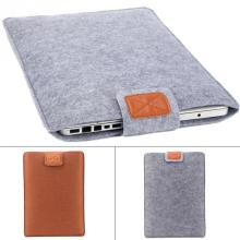 Premium Soft Sleeve Bag Case Notebook Cover for 11in 13in 15in Macbook/Laptop/Tablet PC Fashion Pure Felt