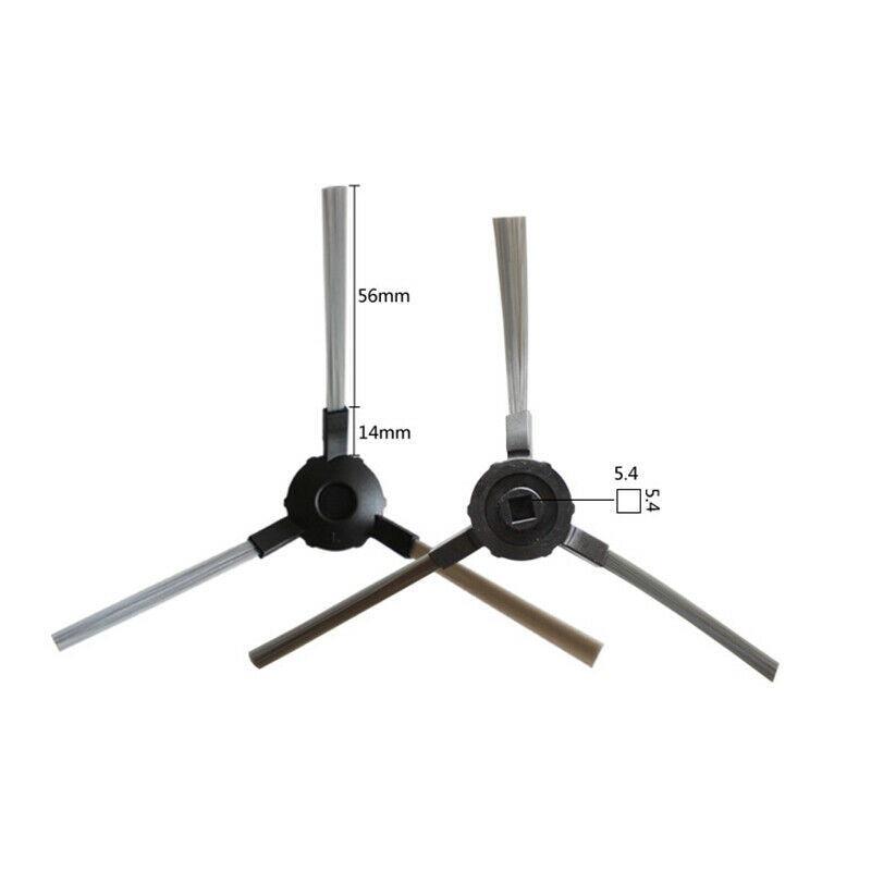 Sweet D Kit de Recambios de Cepillo Principal Compatible con Proscenic VSLAM 811GB 911SE Robot Aspiradora Accesorios 2 Pzs