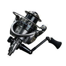 Carp Spinning Fishing Reels, Carbon fiber handle Metal Spool, 13+1BB, aluminum main body fishing reel Fishing wheel