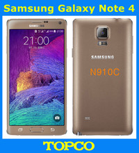 "Samsung Galaxy Note 4 N910C Original Unlocked GSM 4G LTE Android Mobile Phone Octa Core 5.7"" 16MP RAM 3GB ROM 32GB Exynos"