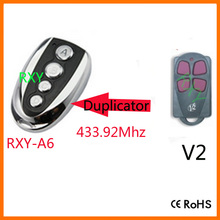 duplicator V2 ( TRC4 contr. 47 ) 433.92mhz rolling code remote control for garage door