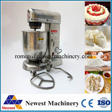 Safety 10L Commercial Stand Food Mixer Egg Cream ,Flour Mixing Quality 304 Stainless steel Mixer food processor on sale(China)