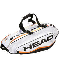 Hot Head 3-6 Rackets Large Capacity Racket Bags Backpack Tennis Bag With Independent Shoe Bag Outdoor Tennis Sports Competition(China)