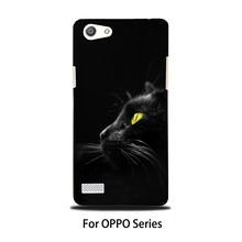 Original NOSIB Design Night Cat Mobile Phone Cases For OPPO series With High Quality Heat Transfer Sublimation Printing