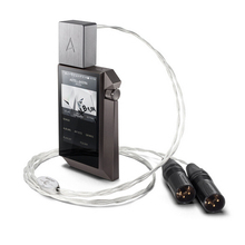 IRIVER Astell&Kern PEF12 gun metal color 1M PEF21 gold color 1.5M Balanced Cable adapter audio line  by Crystal Cable