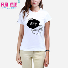 Star Wars printed tshirt fashion lady's T-shirt Can customize according to their own image leisure t shirts women clothes