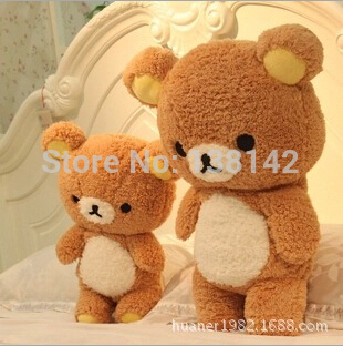 75cm San-x Rilakkuma Relax Bear Cute Soft Pillow Plush toys stuffed animal soft bear baby dolls best gift free shipping<br>