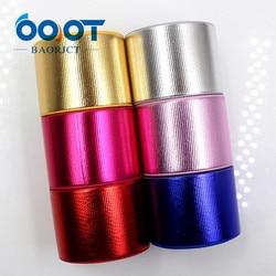 OOOT BAORJCT G-181027-1435, 38 мм 10 ярдов одноцветная Лазерная Лента, свадебные украшения, рукоделие Подарочная упаковка МАТЕРИАЛЫ