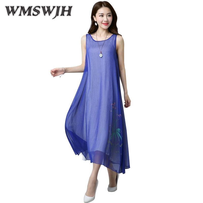Шелковое платье с коже