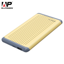 ALLPOWERS Phone Charger 5000mAh Portable Power Bank Cellphone External Battery Backup for Mobile Phone iPhone Samsung Huawei HTC(China)