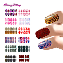 Hot Marble Water Transfer Decals Nail Stickers Flower Abstract Leather Designs Nail Art Tips Manicure Wraps Decor Accessories