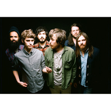 J0265- Fleet Foxes Indie Folk Band  Music Pop 14x21 24x36 Inches Silk Art Poster Top Fabric Print Home Wall Decor