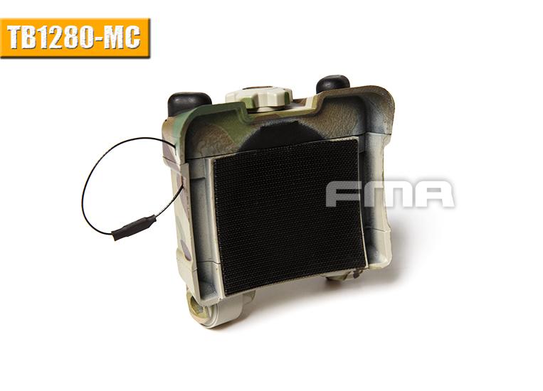 FMA Tactical NVG AN//PVS-31 Battery Box Dummy Model Case TB1280-MC