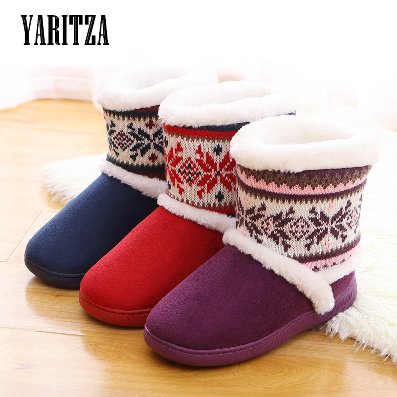 YARITZA 2017 New Arrival Women Boots Winter Snow Warm Boots Indoor Soft Shoes Mid-calf Womens Snow Boots Comfortable Shoes<br><br>Aliexpress