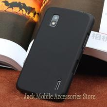 New HighQuality Multi Colors Luxury Rubberized Matte Hard Phone Case Cover For LG Google Nexus 4 E960 Free Shipping