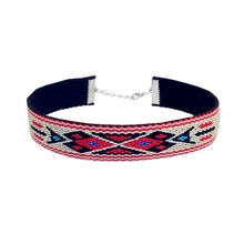New fashion jewelry cloth Bohemia friendship Weaving pattern choker collar necklace gift for women girl  N2036
