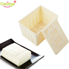 Delidge 2 pcs/set Chinese Tofu Mold Plastic Handmade Tofu Mold Soybean Curd Tofu Making Mold(China)