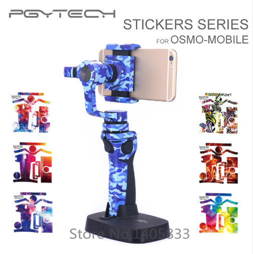 NEW PGY PVC 3M stickers DJI osmo mobile waterproof Wrap Skin skins decals accessories<br><br>Aliexpress