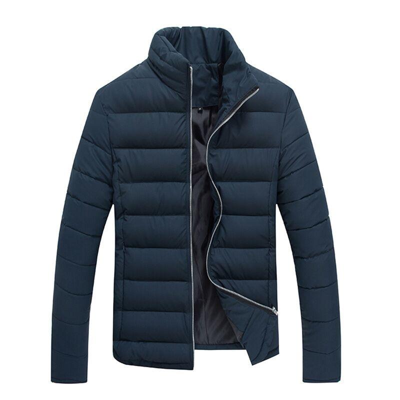 2016 Mens new winter coat thick warm jacket mens jackets Slim waist solid color cardigan style high quality WZ288Îäåæäà è àêñåññóàðû<br><br>
