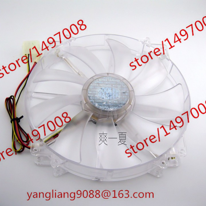 Emacro Cooler Master A20030-10CB-2MN-C1 DC 12V 0.40A  Server Round  fan<br>