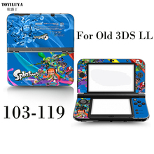 New Shinryaku Protective Skin Sticker Game Handle Skin Protector Cover Plates For Nintendo 3DS XL LL Stick For 3DS XL LL
