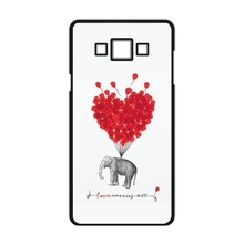 Love Carries All Elephant Cover Case For Samsung Galaxy S3 S4 S5 Mini S6 S7 Edge Plus A3 A5 A7 2015
