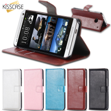 KISSCASE M7 Leather Case Wallet Cover For HTC ONE M7 Flip With Card Slot & Stand Function CellPhone Case Holster Capa For HTC M7