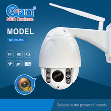 Owlcat 1.0 MegaPixels CMOS Wifi IP Dome Camera PTZ wireless 10X Optica Zoom H.264 720P Pan Tilt SD Card Night vision Motion